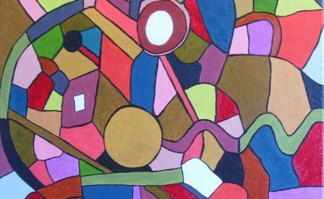 180.Vitrail 4 (50×50)