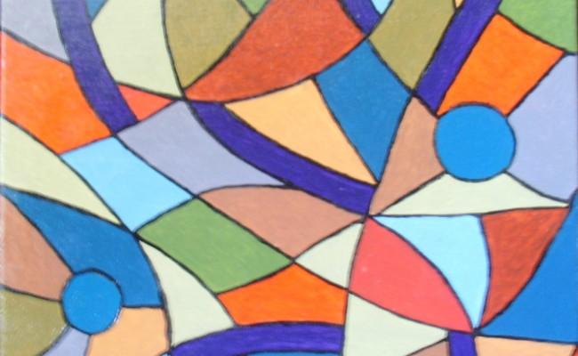 181. Vitrail 5(40×40)
